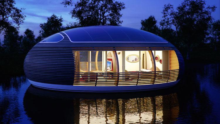 Casa flutuante e sustentável - Construtora Laguna