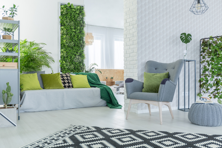 Jardim particular no apartamento - Construtora Laguna