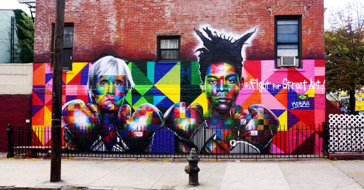 Street art dos muros para as paredes - Construtora Laguna