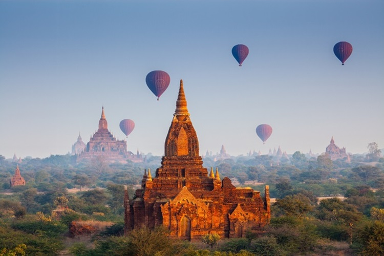 7 lugares para conhecer no mundo antes que desapareçam Templos de Bagan - Construtora Laguna