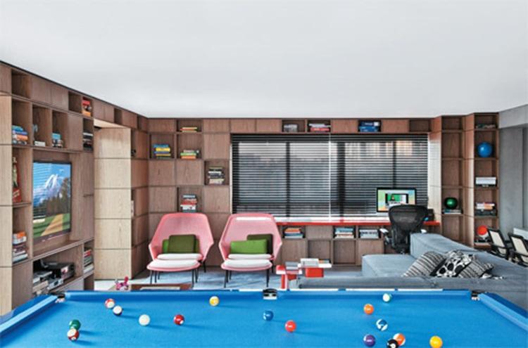 Decoração de residências duplex Solteiro - Construtora Laguna