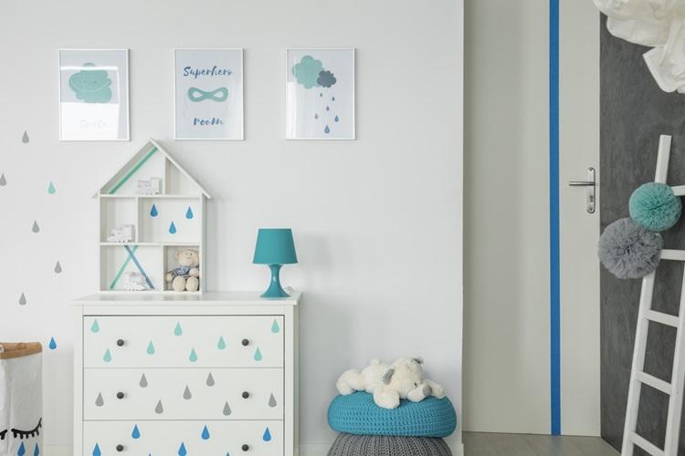 5 ideias que vão transformar sua casa - Adesivo infantil - Construtora Laguna