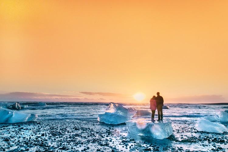 6 destinos românticos que fogem do clichê - Islandia - Construtora Laguna