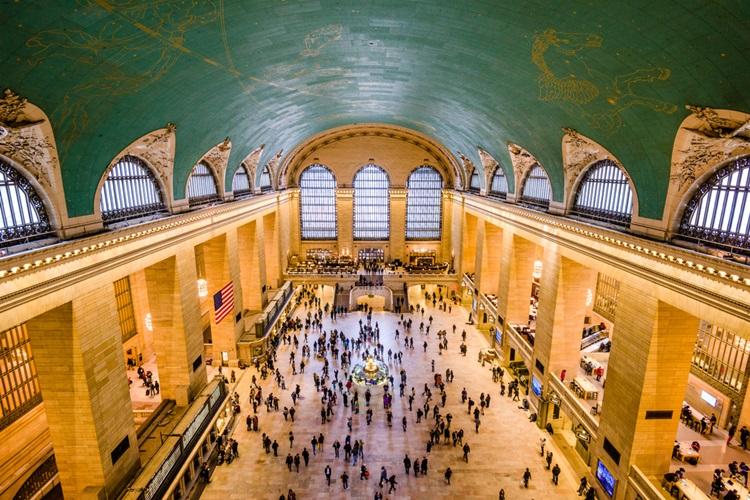 7 incríveis obras arquitetônicas em Nova York! Grand Central - Construtora Laguna