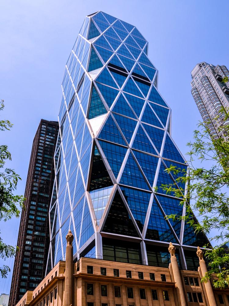 7 incríveis obras arquitetônicas em Nova York! Hearts Tower - Construtora Laguna
