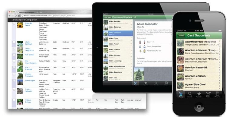 Conheça 4 aplicativos que ajudarão você a cuidar de plantas - Landscapers Companion - Construtora Laguna