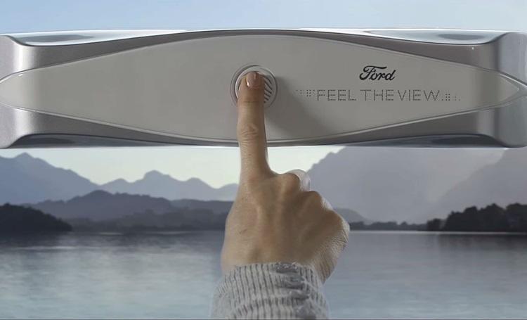 Deficientes visuais poderão sentir as paisagens por meio de uma janela inteligente - Construtora Laguna