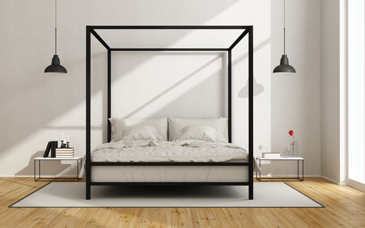 Do clássico ao moderno, confira camas com dossel - clean - Construtora Laguna