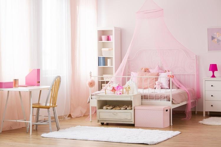 Do clássico ao moderno, confira camas com dossel - menina -Construtora Laguna