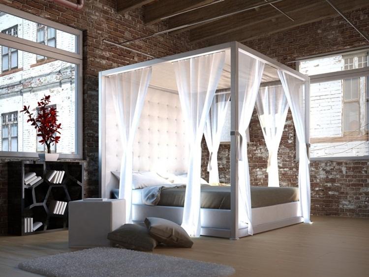 Do clássico ao moderno, confira camas com dossel - moderno -Construtora Laguna