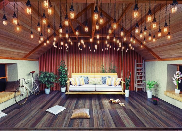 Inspiração: balanços em ambientes internos - Sofá - Construtora Laguna