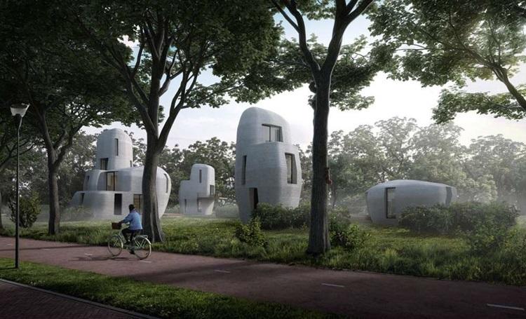Moradia impressa em 3D será realidade na Holanda em 2019 - Construtora Laguna