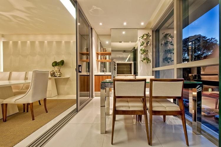 Ideias para decorar varandas fechadas - EOS - Construtora Laguna