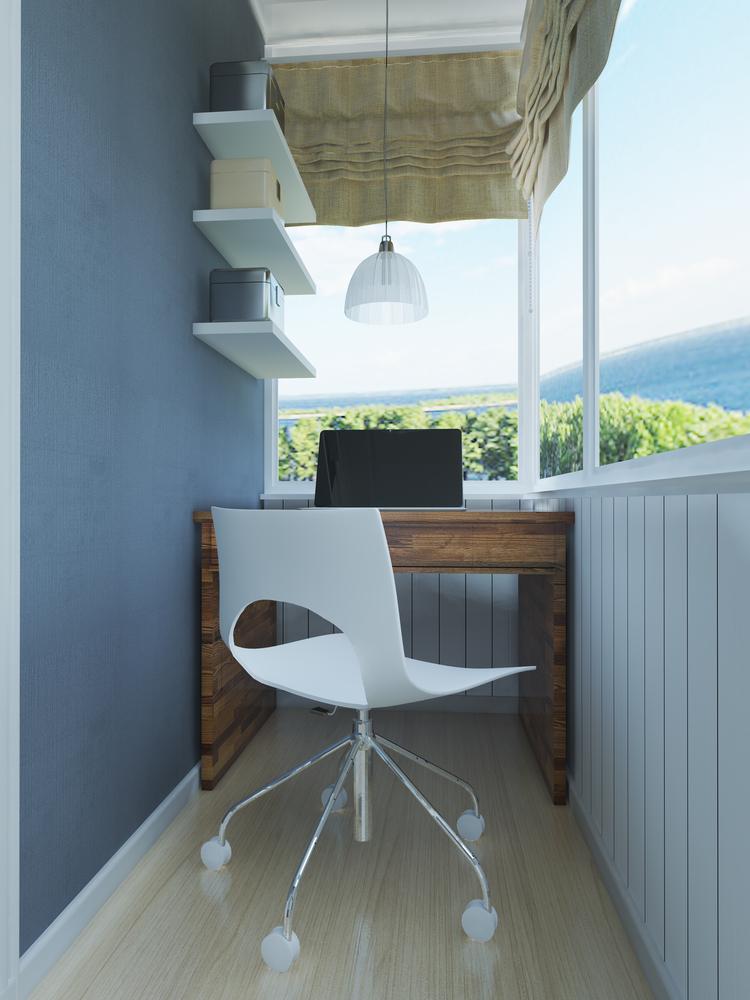 Ideias para decorar varandas fechadas - Escritório - Construtora Laguna
