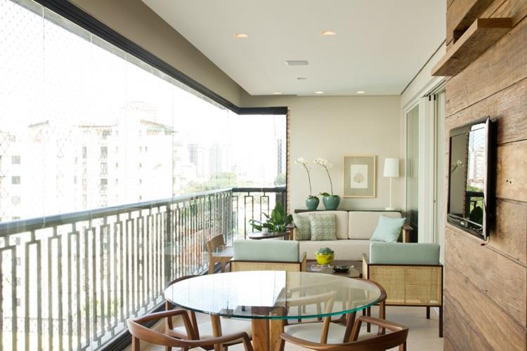 Ideias para decorar varandas fechadas - mariliaveiga - Construtora Laguna