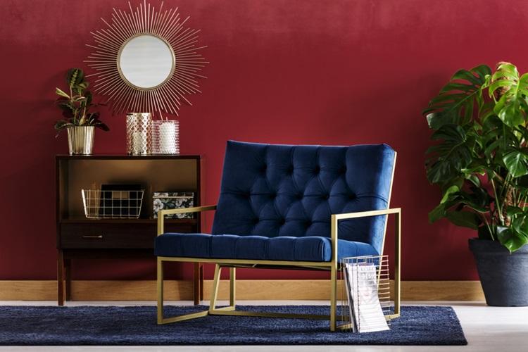 Assim como na moda, o veludo permanece em alta na decoração- Construtora Laguna