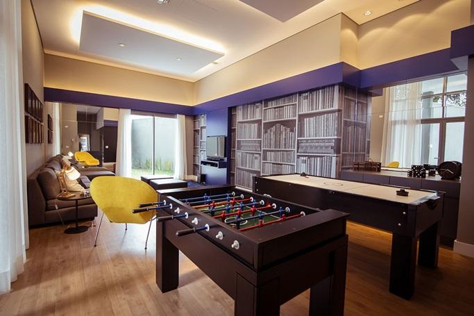 Cromoterapia em casa - MAI Home Sala de Jogos - Construtora Laguna