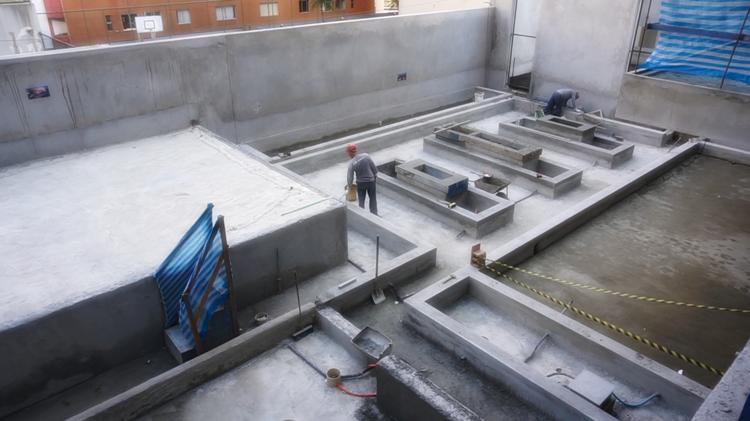 Por Dentro da Obra LLUM Batel - Praça das Jabuticabas - Setembro 2018 - Construtora Laguna