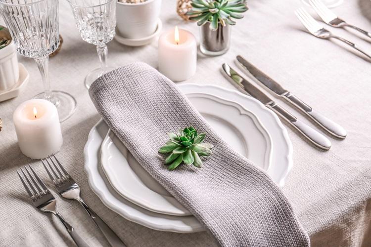 Use elementos orgânicos na decoração da sua mesa - Construtora Laguna