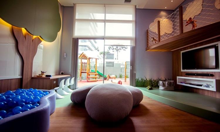 Cromoterapia em casa - MAI Home Brinquedoteca - Construtora Laguna