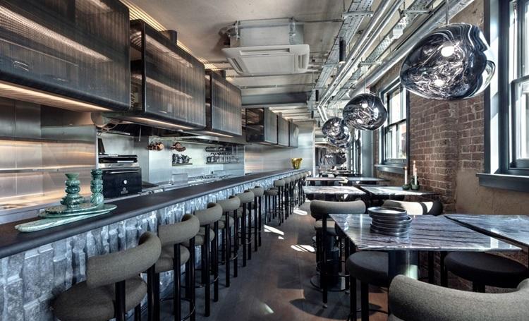 Designer Tom Dixon inaugura restaurante em Londres - Construtora Laguna