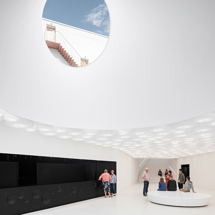 Museu de artes da Finlândia ganha novo espaço subterrâneo - Amos Rex -Construtora Laguna