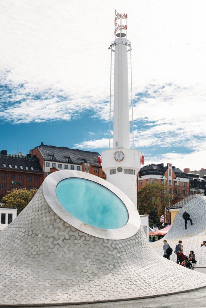 Museu de artes da Finlândia ganha novo espaço subterrâneo e com aspecto futurístico - Construtora Laguna
