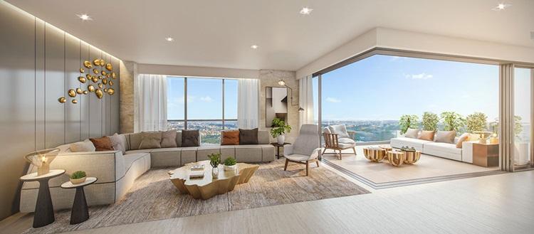 A valorização do terraço: um dos 5 pontos da arquitetura moderna de Le Corbusier - MAI Terraces Duplex - Construtora Laguna