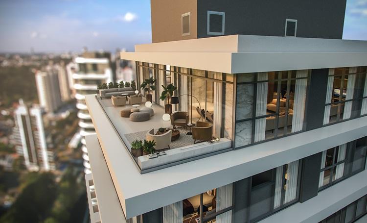 A valorização: do terraço um dos 5 pontos da arquitetura moderna de Le Corbusier - MAI Terraces cobertura - Construtora Laguna