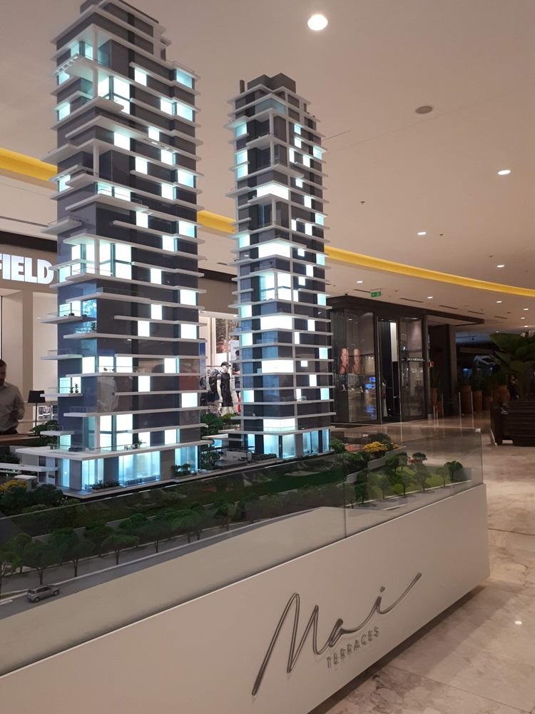 A valorização do terraço - Stand MAI Terraces - Construtora Laguna