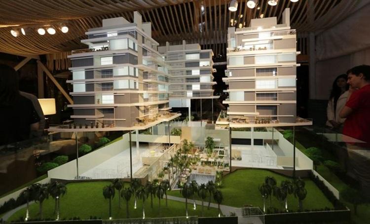 Oásis Umm-al-Maa serviu como inspiração para o ALMÁA Cabral - Construtora Laguna