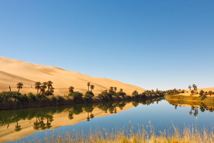 Umm-al-Maa um dos oásis mais bonitos do mundo serviu como inspiração para o ALMÁA Cabral - Construtora Laguna