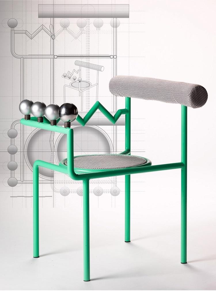 Design de cadeiras exóticas é inspirado em sutilezas da linguagem corporal - Construtora Laguna