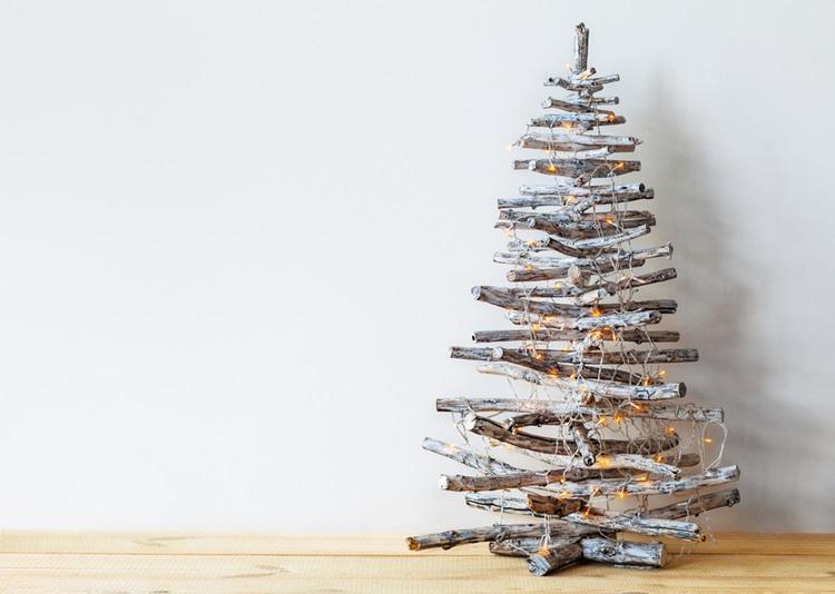Inspirações para inovar na árvore de Natal - Escandinavo - Construtora Laguna