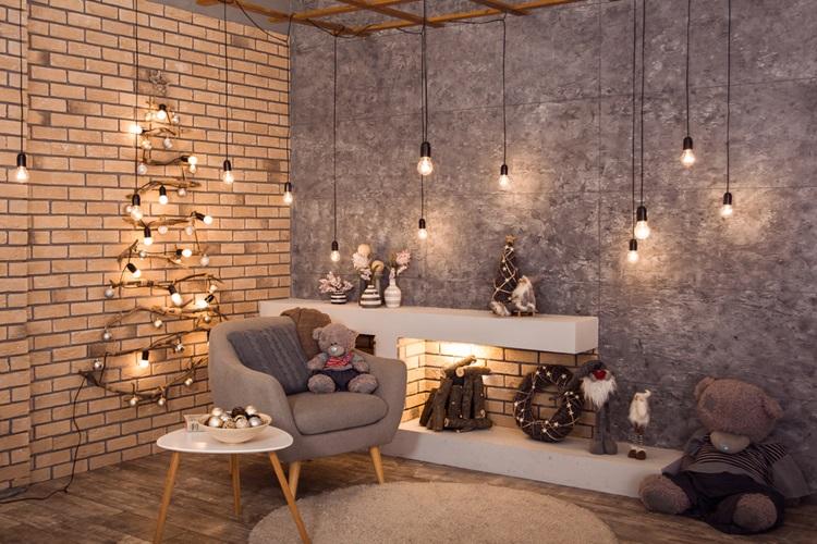 Inspirações para inovar na árvore de Natal - Luzes - Construtora Laguna
