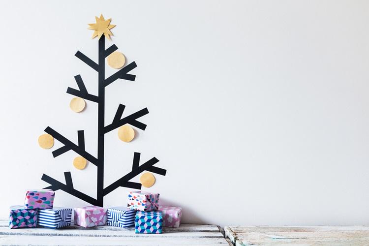 Inspirações para inovar na árvore de Natal - Madeira - Construtora Laguna