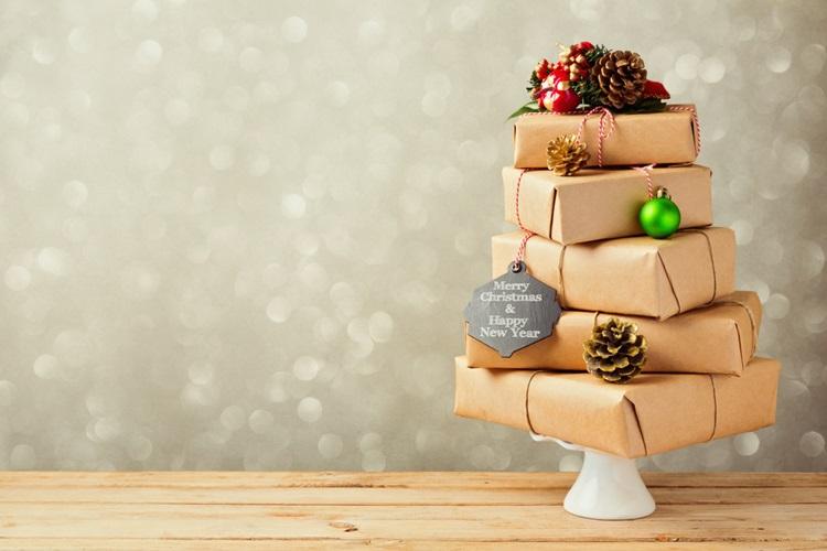 Inspirações para inovar na árvore de Natal - Presentes - Construtora Laguna