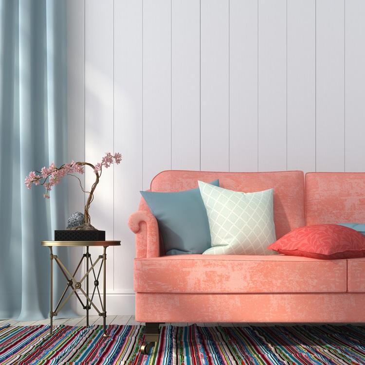 Living Coral é a cor de 2019 da Pantone - Sofá - Construtora Laguna