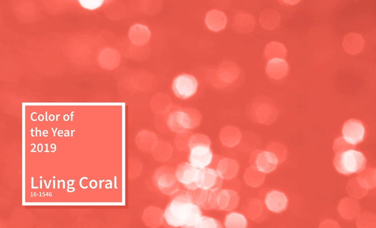 Living Coral, cor de 2019 da Pantone - Construtora Laguna