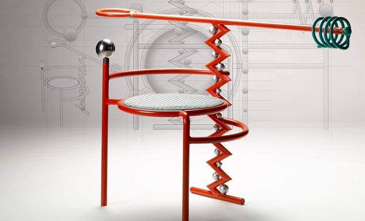 Sutilezas da linguagem corporal inspiram design de cadeiras exóticas - Construtora Laguna