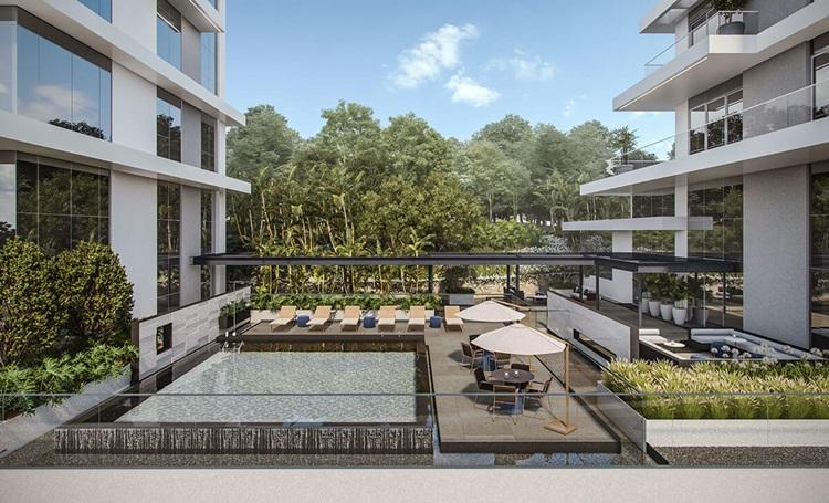 5 benefícios de residências sustentáveis para a vida dos moradores - Piscina MAI Terraces - Construtora Laguna