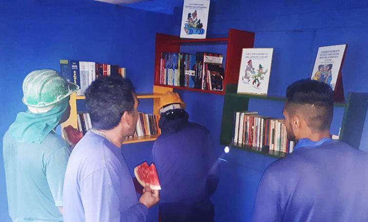 Grupo Laguna passa a incentivar a leitura e a pesquisa em suas obras - Construtora Laguna