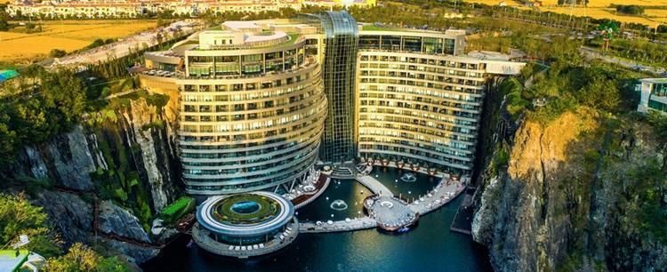 InterContinental Shanghai Wonderland, o primeiro hotel subterrâneo do mundo - Construtora Laguna
