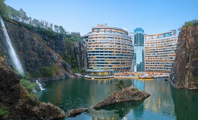 InterContinental Shanghai Wonderland o primeiro hotel subterrâneo do mundo - Construtora Laguna