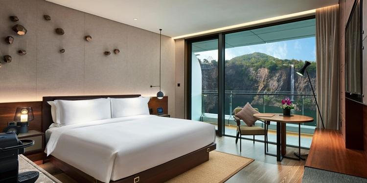 InterContinental Shanghai Wonderland o primeiro hotel subterrâneo do mundo - Suíte - Construtora Laguna