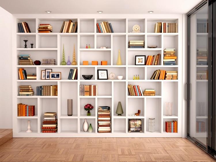 Dicas de organização de livros para unir funcionalidade e beleza - Construtora Laguna
