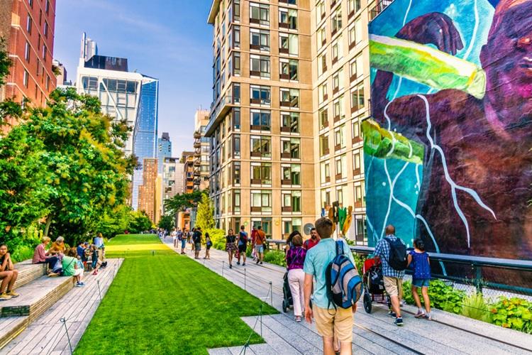 High Line, o parque de Nova Iorque que serviu como inspiração para o ROC Batel - Construtora Laguna