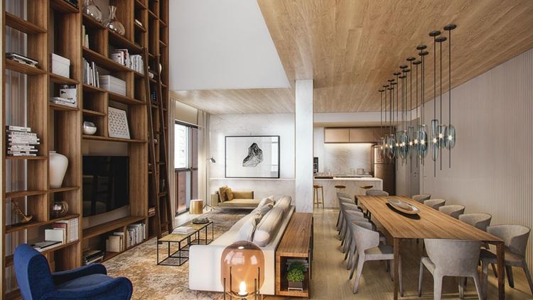 O que estará em alta na decoração de interiores em 2019 - Madeira -Construtora Laguna