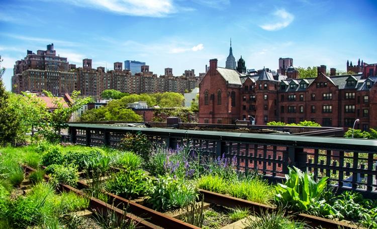 Parque High Line, em Nova Iorque, serviu como inspiração para o ROC Batel - Construtora Laguna