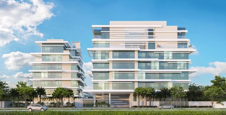 Placas fotovoltaicas são evidenciadas em arquitetura de resort nas Maldivas - ALMÁA Cabral - Construtora Laguna